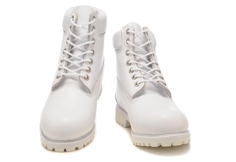Белые ботинки мужские